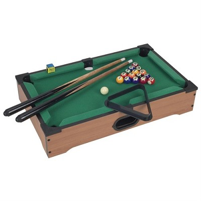 Premium Tabletop Pool Table With Accessories