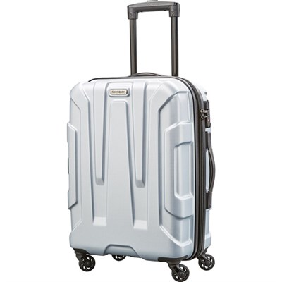 Centric Hardside 24` Luggage, Silver