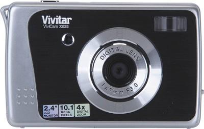 ViviCam X025 10.1 MP HD Digital Camera (Black)