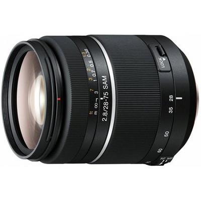 SAL2875 - 28-75mm f/2.8 SAM Constant Aperture Zoom Lens - OPEN BOX