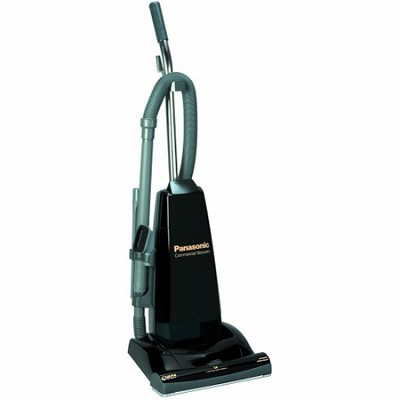 MC-V5210 - Commercial Upright Vacuum Cleaner with Tools On-Board, Black OPEN BOX