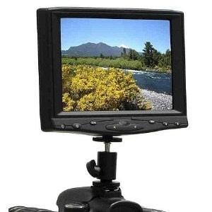 Portable 7` HDMI TFT Camera-top Field LCD Monitor for Canon LP-E6