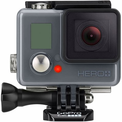 HERO+ LCD 1080p Action Camera w/ Built-In Touch Display and Integrated Housing