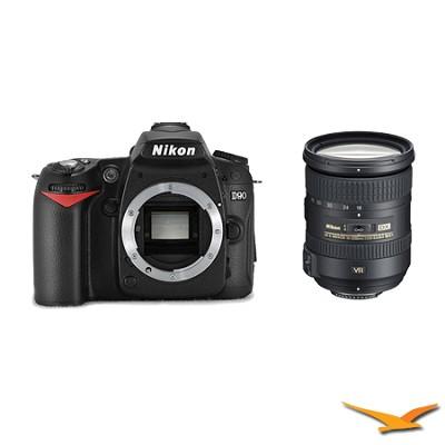 D90 Digital SLR Camera with 18-200mm VR 2 Lens kit