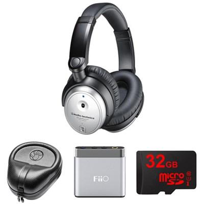 QuietPoint Active Noise-Cancelling Headphones w/ FiiO Amp. Bundle