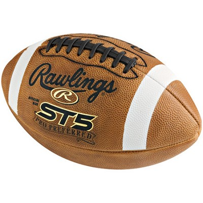ST5PROSB - Pro Preferred Full Grain Leather Official Size Football