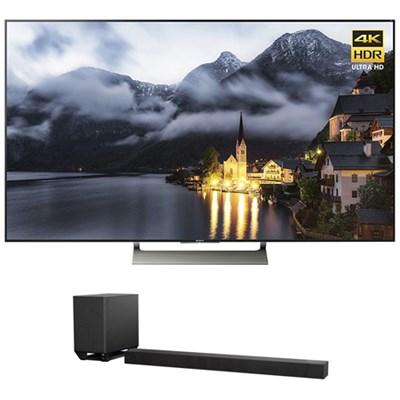 65` 4K HDR Ultra HD Smart LED TV w/ Sony 7.1.2ch Dolby Atmos Sound Bar