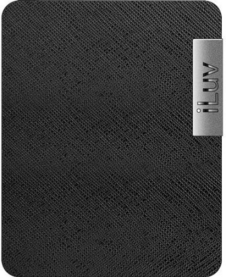 iCC806 Apple iPad Case - Leather - (Black)