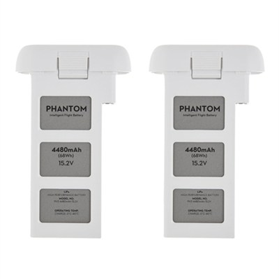 Phantom 3 Quadcopter Drone 4480mah Intelligent Flight Battery 2-Pack Bundle