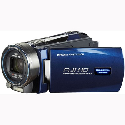Full 1080p HD Infrared 16MP Night Vision Camcorder w/ 10x Optical Zoom OPEN BOX