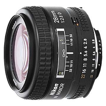 28mm F/2.8D  AF Lens, With Nikon 5-Year USA Warranty