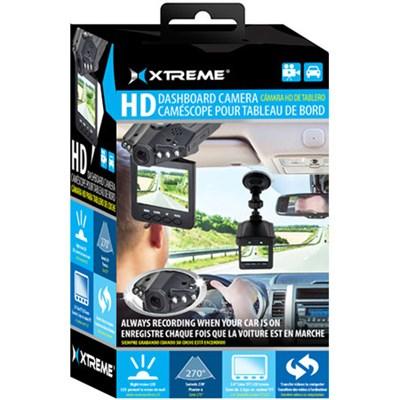 High Definition Dash Cam - Automotive HD DVR IR Night Vision Camera w/ 2.4` LCD