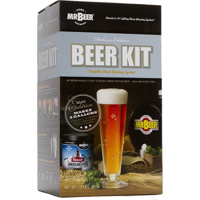 Home Brewing System Deluxe Edition Beer Kit