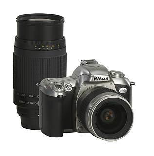 N75 SLR w/ Nikon 28-80mm  and 70-300mm 2-Lens Photographers SPECIAL NIKON KIT