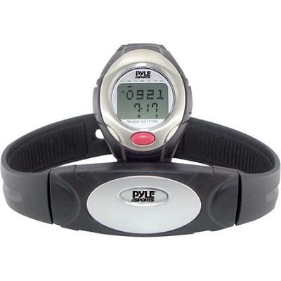 One Button Heart Rate Watch W/ 3D Running/ Walking Sensor