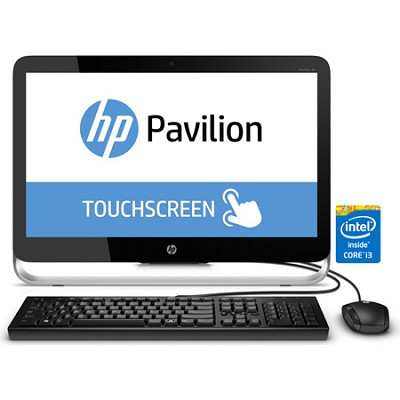 Pavilion 23-p010 23` HD All-in-One Desktop PC - Intel Core i3-4130T Processor