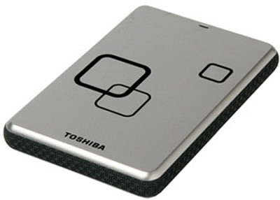 DS TS Canvio HD 750GB USB 2.0 External Hard Drive - Satin Silver - OPEN BOX