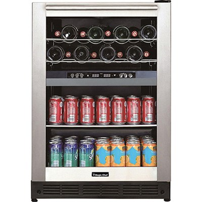 Dual Zone Built-In Wine and Beverage Cooler