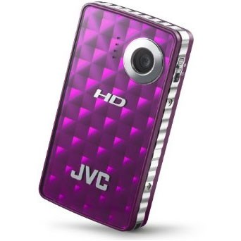GC-FM1V Picsio Pocket Flash Memory 1080p Camcorder (Sparkling Purple)