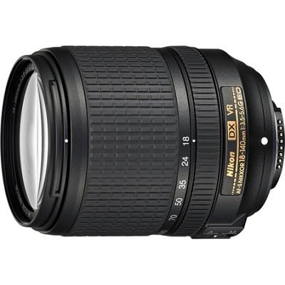AF-S DX NIKKOR 18-140mm f/3.5-5.6G ED VR Lens - OPEN BOX