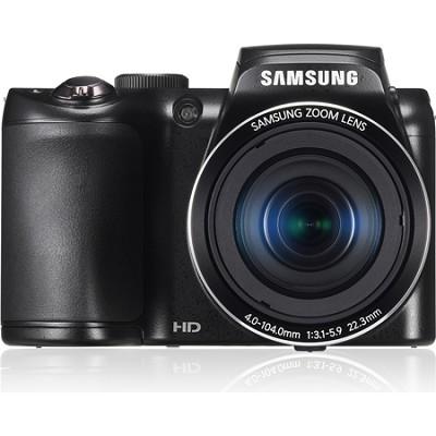 WB100 16MP 26x Optical Zoom Black Digital Camera- OPEN BOX