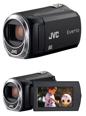 Everio GZ-MS110B  Camcorder with SD/SDHC Card Slot - Open Box