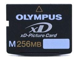 M256MB xD Memory Card