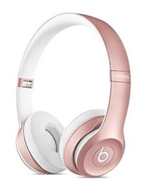 Dr. Dre Solo2 Wireless On-Ear Headphones (Rose Gold) - OPEN BOX