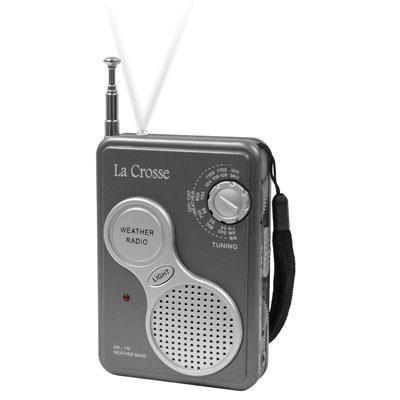 Hand Held NOAA Weather Radio - 809-905