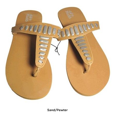 FOM277 Sandals Sand/Pewter Size X-Large (11)