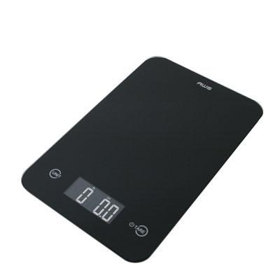 Thin Digital Kitchen Scale Blk