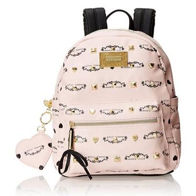Signature Studded Backpack (Blush)