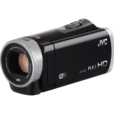 GZ-EX355BUS - HD Everio Camcorder 40x Zoom w/ 16GB Built-in Flash Memory (Black)