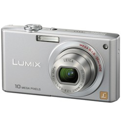 DMC-FX35S - Slim Compact 10 Megapixel Digital Camera (Silver) w/ 2.5- inch LCD