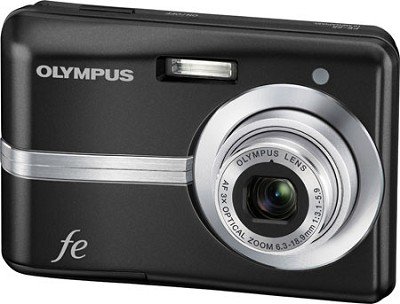 FE-25 10MP 2.4` LCD Digital Camera (Black) - REFURBISHED