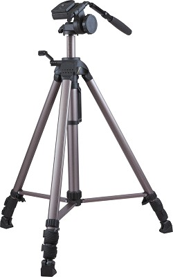 VT-558 Pro Quality Video Tripod with Carrying Case