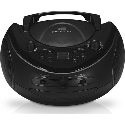 MP3221R Portable CD Boombox with AM FM Radio - REFURBISHED