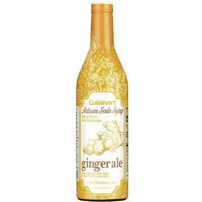 Artisan Soda Syrup, 750ml - Ginger Ale