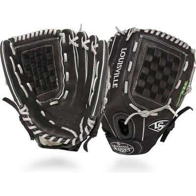 12.5-Inch FG Zephyr Softball Outfielders Glove RightHand Throw - Black