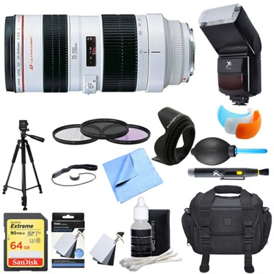 EF 70-200mm F/2.8L USM Lens Ultimate Accessory Bundle