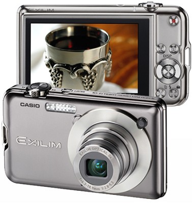 Exilim EX-S10 10.1MP Digital Camera with 2.7` LCD (Silver)