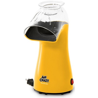 82419Y Air Crazy Popcorn Popper - Yellow