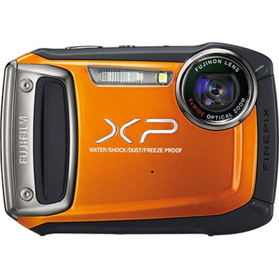 XP170 Compact Digital Camera with 5xOptical Zoom Lens - Orange - OPEN BOX