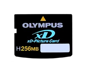 High-Speed H256MB xD Memory Card