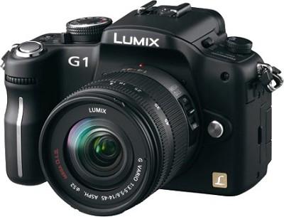 G1-12.1MP SLR Digital C.Black) w/ Lumix G Vario 14-45 mm f/3.5-5.6 **OPEN  BOX**