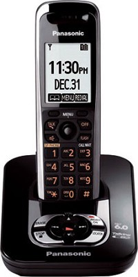 KX-TG7431B DECT 6.0 Expandable Digital Cordless Phone System
