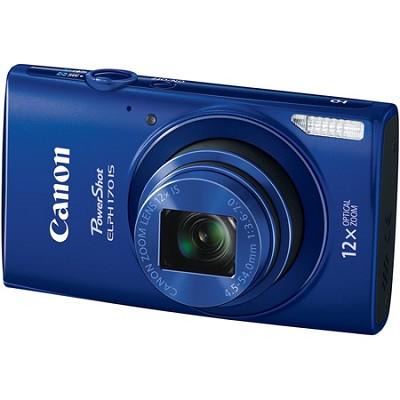 PowerShot ELPH 170 IS 20MP 12x Opt Zoom Digital Camera - Blue