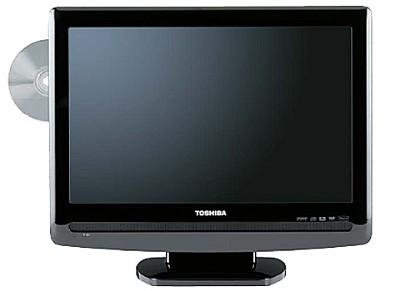 19LV505 - 19` LCD TV w/ built-in DVD Player, Hi Gloss Black