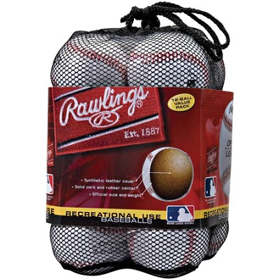 Official League Recreational Use Baseballs (Pack of 12)