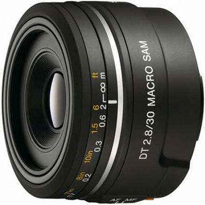 SAL30M28 - 30mm f/2.8 Macro SAM Lens for Sony Alpha DSLR's - OPEN BOX